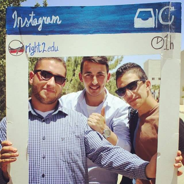 Tag yourself in our Birzeit University garden party Facebook photoshellip