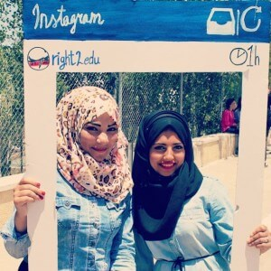 Thanks to all the amazing Birzeit University students who came…