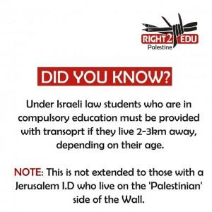 #right2edu #Palestine #thewall #humanrights #violations #education